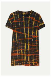 Proenza Schouler - Tie-dyed Cotton-jersey T-shirt - Black