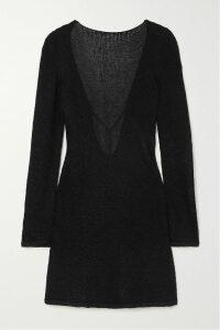 MICHAEL Michael Kors - Paneled Printed Stretch-jersey Midi Dress - Purple