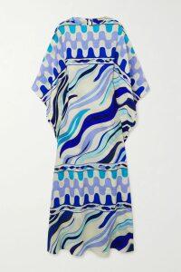 GANNI - Smocked Leather Mini Dress - Black