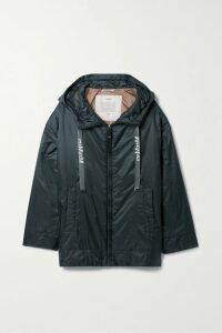 Evi Grintela - Dominique Belted Velvet-jacquard Maxi Dress - Red