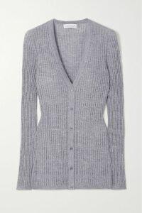 Prada - Floral-print Cotton-poplin Midi Skirt - White