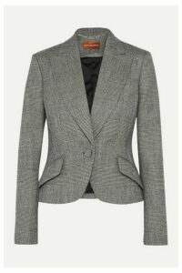 Altuzarra - Kershaw Checked Wool-blend Blazer - Gray