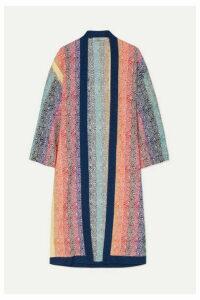 Mary Katrantzou - Sola Glittered Jacquard-knit Cardigan - Pink