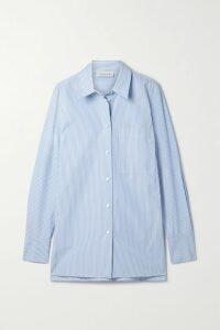 Temperley London - Cherry Blossom Ruffled Embroidered Cotton Midi Dress - White