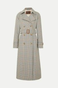 Loro Piana - Houndstooth Wool Trench Coat - Neutral