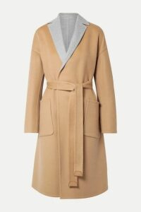 Loro Piana - Reversible Belted Cashmere Coat - Beige
