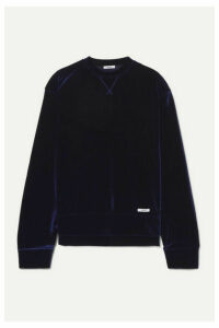 BLOUSE - Juju Velour Sweatshirt - Navy