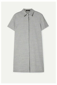 Theory - Organic Linen-blend Mini Dress - Light blue