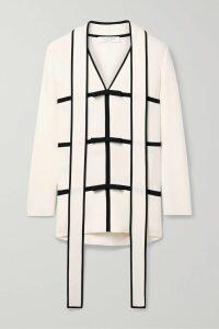 Faithfull The Brand - Marta Floral-print Crepe Wrap Midi Dress - Light blue
