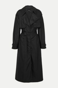 Isabel Marant - Clem Shell Trench Coat - Black