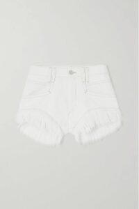 Thom Browne - Striped Cotton-jersey Blazer - Light gray