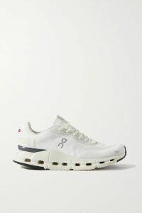 STAUD - Carmela Frayed Linen Midi Skirt - Brown