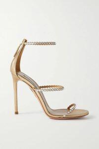 Philosophy di Lorenzo Serafini - Pussy-bow Lace-trimmed Zebra-print Crepe De Chine Blouse - White