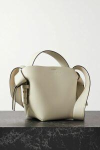 Prada - Belted Goat Hair Coat - Blush