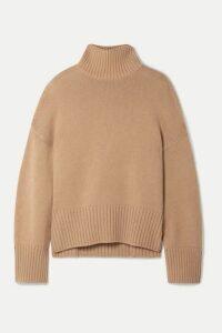Loro Piana - Cashmere Turtleneck Sweater - Tan