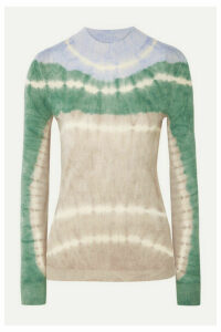 Missoni - Tie-dyed Alpaca Top - Gray green