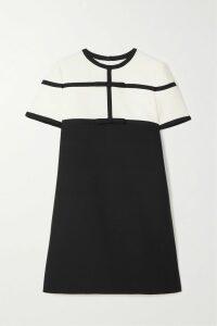 Zimmermann - Espionage Ballet Ruched Polka-dot Flocked Tulle Midi Dress - Black