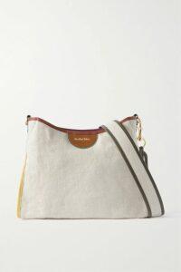 Alessandra Rich - Ruffled Floral-print Silk-taffeta Mini Dress - Black