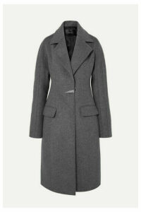 Mugler - Dolmen Wool-felt Coat - Gray