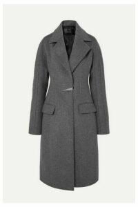 Mugler - Dolmen Wool-felt Coat - Gray