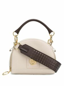 See By Chloé Small Eddy cross-body bowling bag - Neutrals