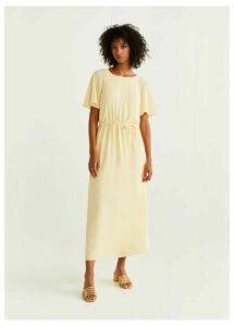 Long textured dress