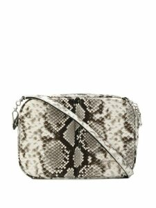 Dsquared2 snake pattern crossbody bag - White