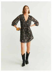 Printed retro dress