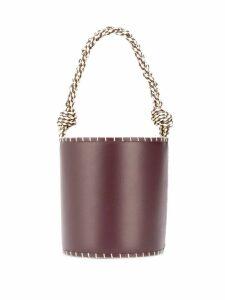Ulla Johnson Nia bucket bag - Red
