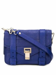 Proenza Schouler PS1 Mini Crossbody - Blue