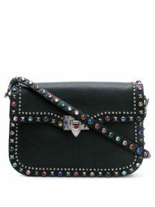 Valentino Valentino Garavani Rockstud Rolling shoulder bag - Black