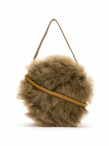 Serpui fur shoulder bag - Brown