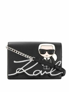 Karl Lagerfeld K/Ikonik shoulder bag - Black