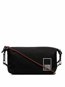 Ganni carabiner shoulder bag - Black