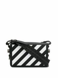 Off-White mini Diag Flap shoulder bag - Black
