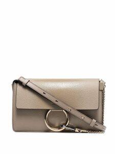 Chloé small Faye shoulder bag - Grey