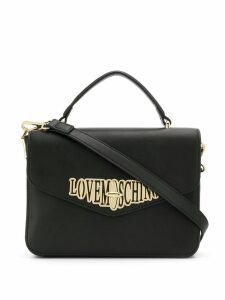 Love Moschino logo envelope bag - Black