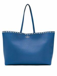Valentino Garavani Valentino Garavani rockstud tote bag - Blue