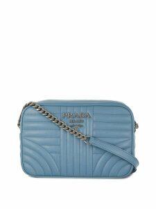 Prada Diagramme shoulder bag - Blue