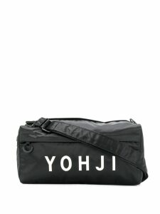 Y-3 logo shoulder bag - Black