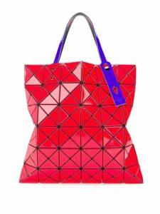 Bao Bao Issey Miyake Lucent gloss tote bag - Red