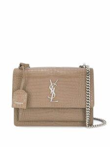 Saint Laurent Sunset chain shoulder bag - Neutrals