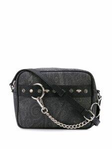 Etro Paisley crossbody bag - Black