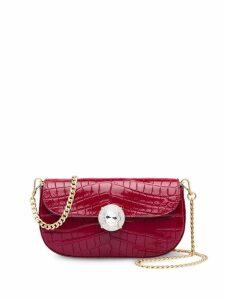 Miu Miu crocodile effect mini bag - Red