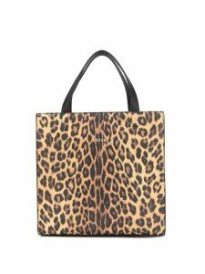 Liu Jo leopard print tote bag - Brown