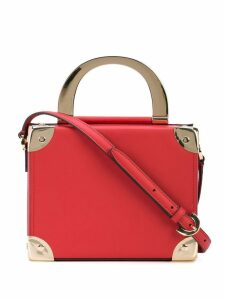 Zac Zac Posen box crossbody bag - Apple