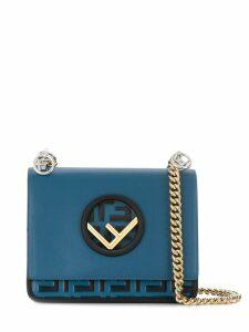 Fendi Kan I F shoulder bag - Blue