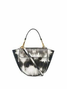 Wandler mini Hortensia tie-dye shoulder bag - Black