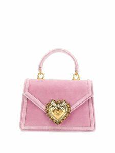 Dolce & Gabbana Devotion mini tote - Pink