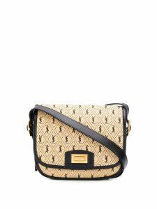 Saint Laurent Spontini shoulder bag - Brown